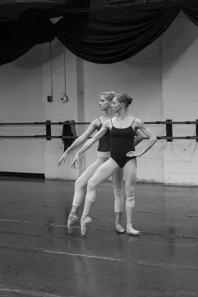 Black And White And Gold All Over Setting The Barre