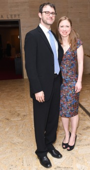 Marc Mezvinsky, Chelsea Clinton== Youth America Grand Prix's 2017 Stars of Today Meet the Stars of Tomorrow Gala== David H. Koch Theater, Lincoln Center, NYC== April 13, 2017== ©Patrick McMullan== Photo - Presley Ann/PMC== == Marc Mezvinsky; Chelsea Clinton